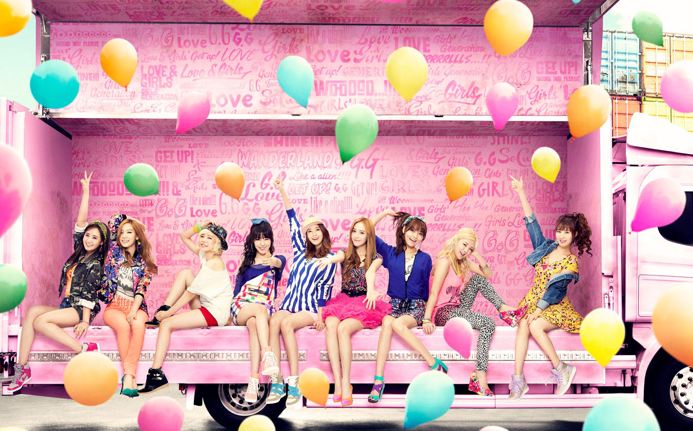 SNSD Love Girls Japanese single album