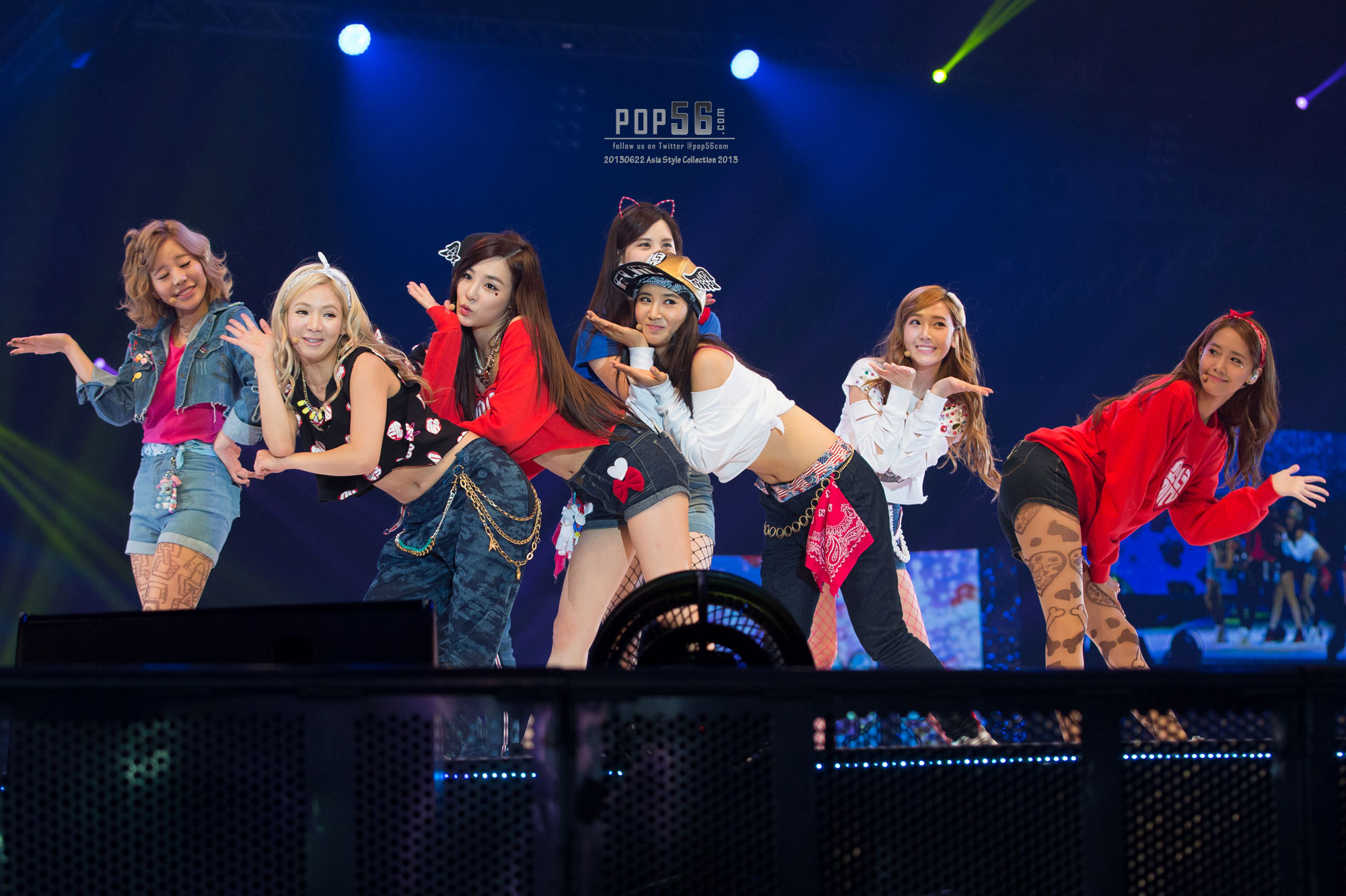 Girls Generation Asia Style Collection in Singapore