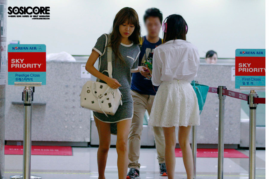 SNSD Taeyeon Gimpo Airport to Japan