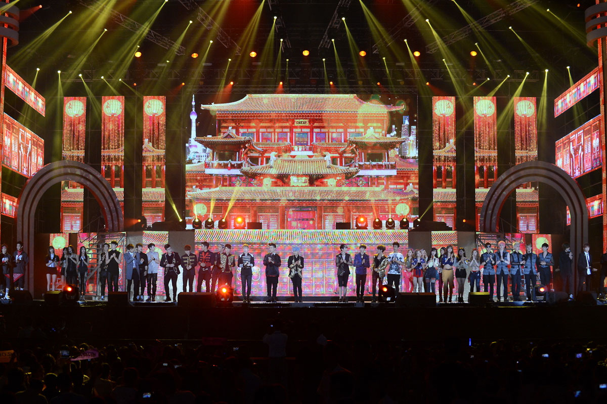 SNSD Korea China Music Festival Beijing 2013