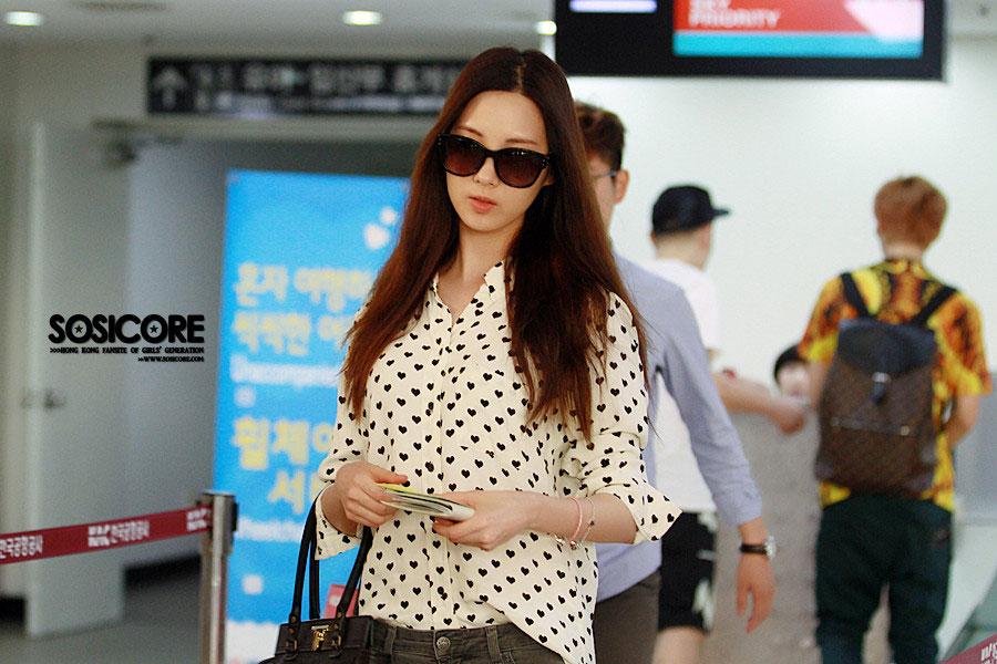 Girls Generation Seohyun Gimpo Airport