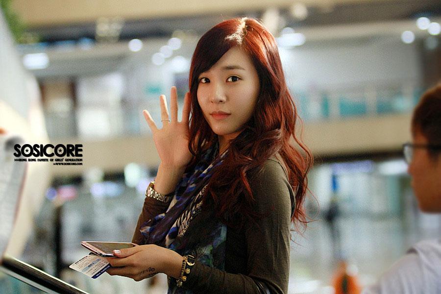 Girls Generation Tiffany Gimpo Airport