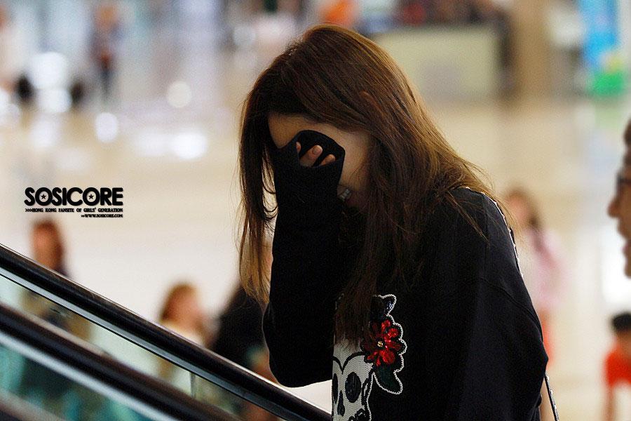 Girls Generation Taeyeon Gimpo Airport