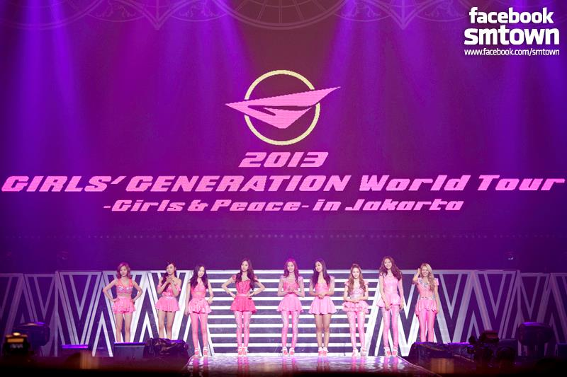 Girls Generation World Tour 2013 Jakarta