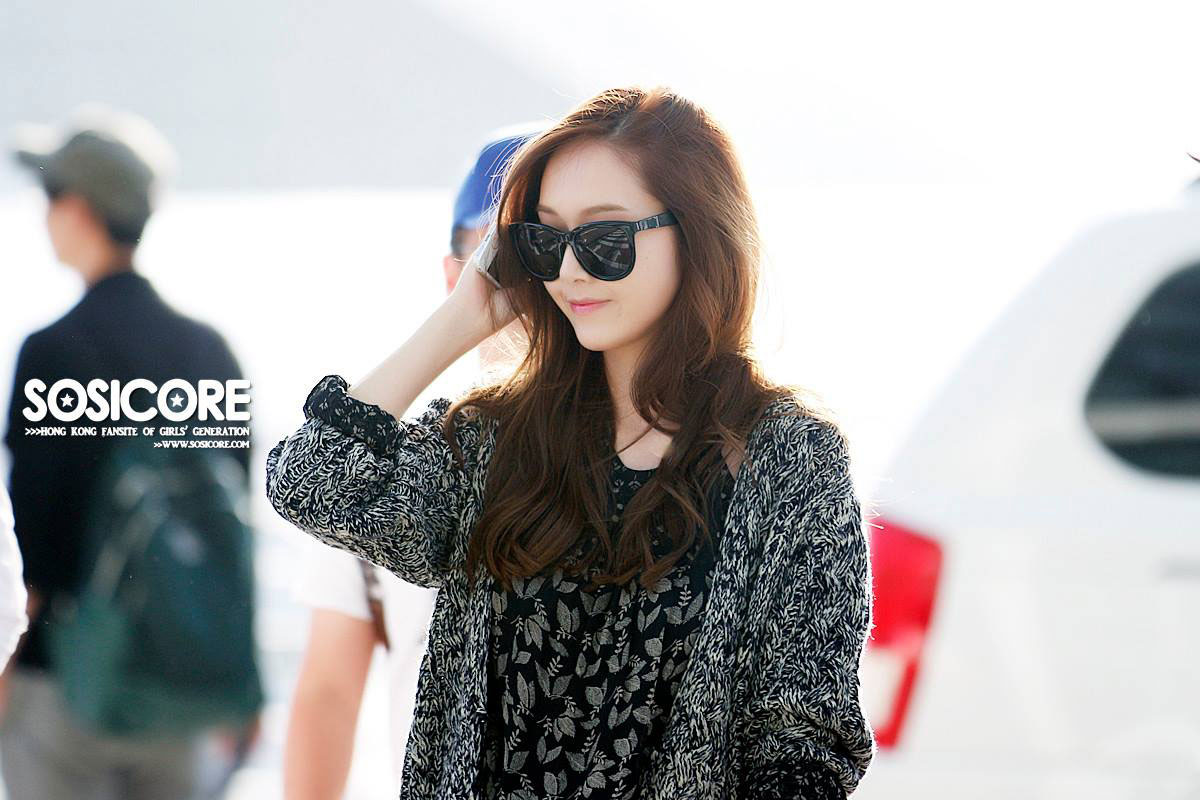 SNSD Jessica Incheon Airport to Singapore