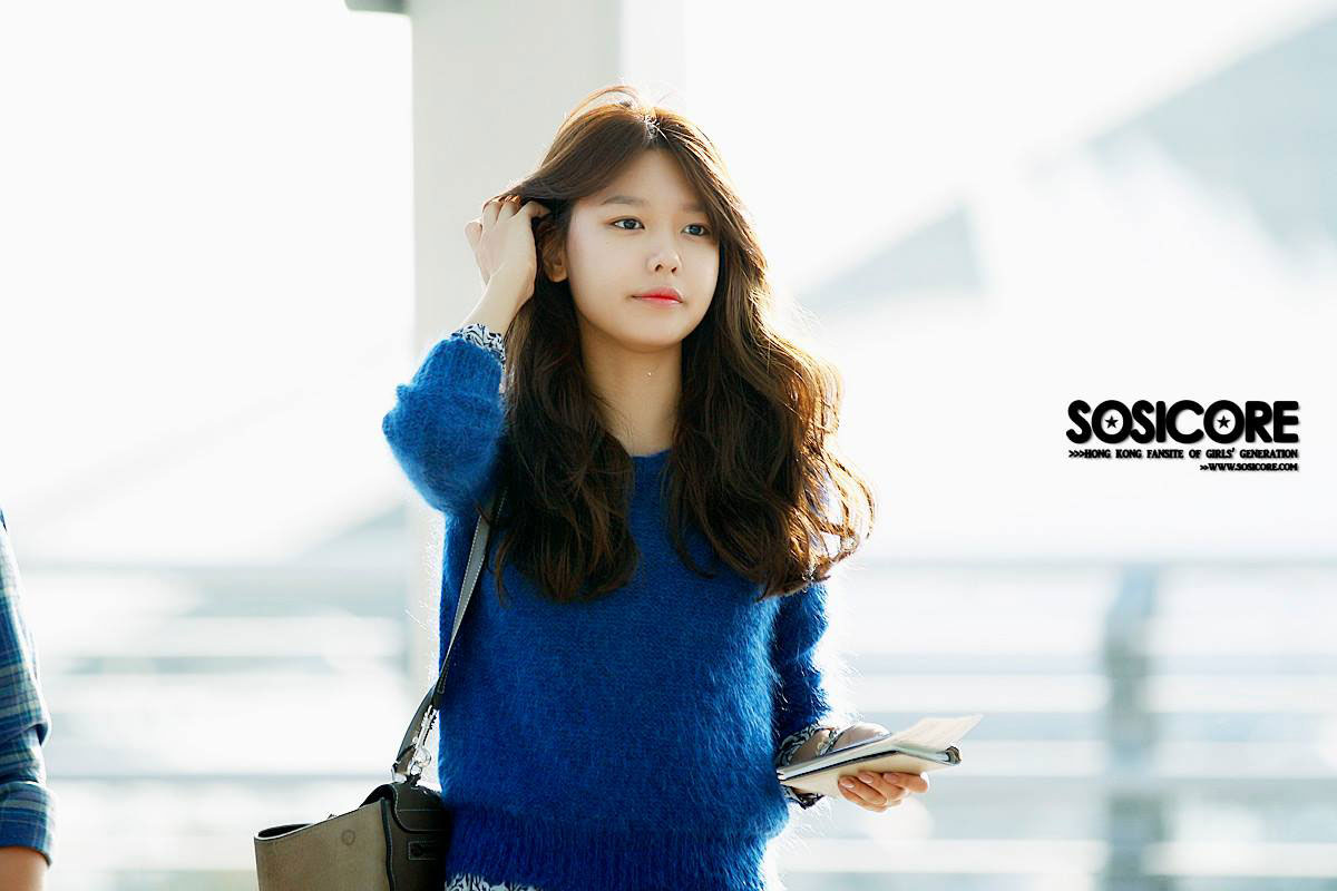 SNSD Sooyoung Incheon Airport to Singapore