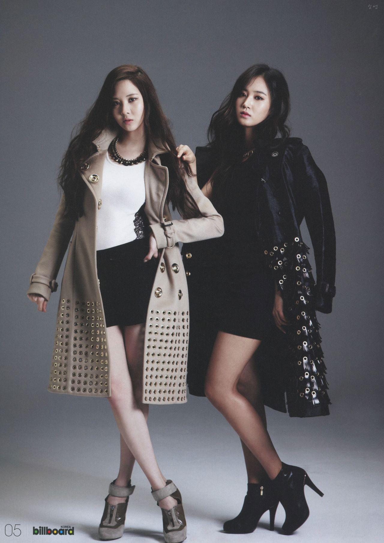 Seohyun Yuri Billboard Korea Kpop Magazine