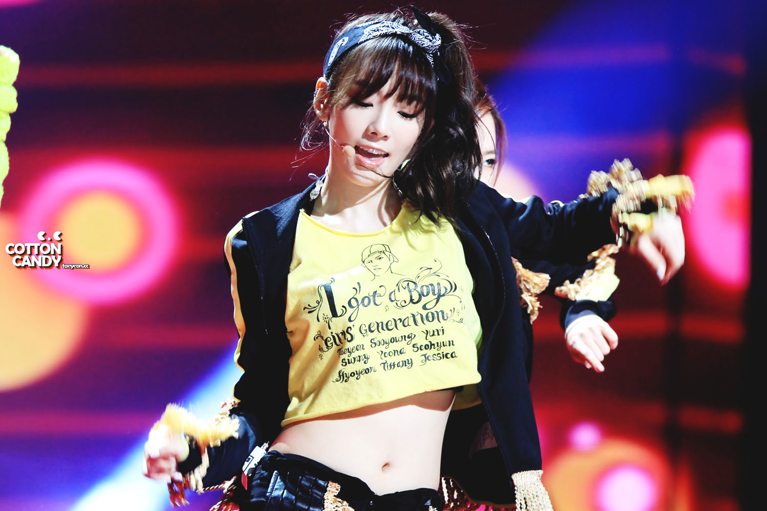 SNSD Taeyeon KBS Open Concert CottonCandy