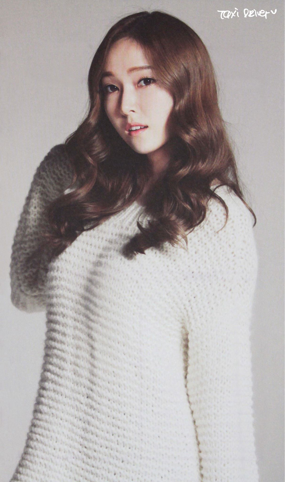 Girls Generation Jessica 2014 calendar