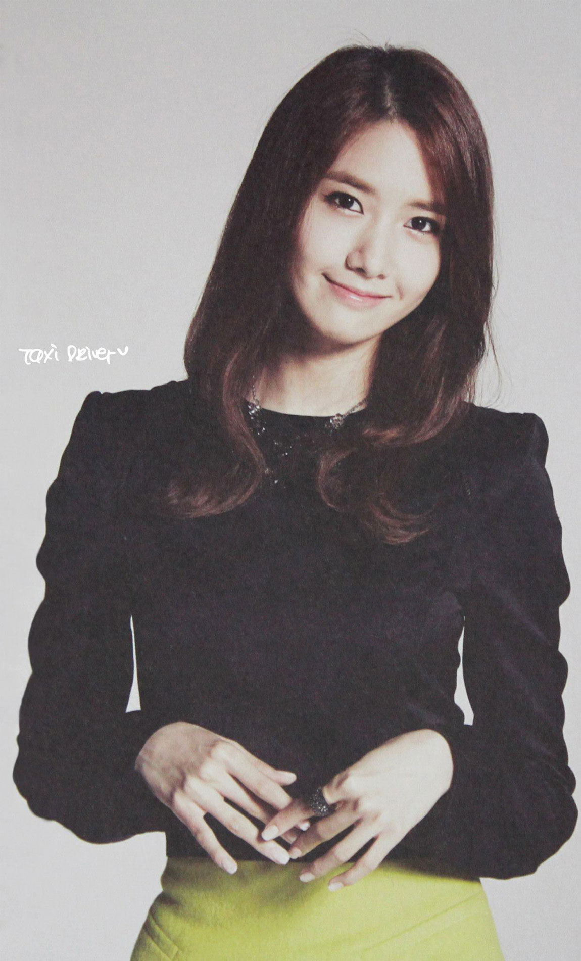 Girls Generation Yoona 2014 calendar