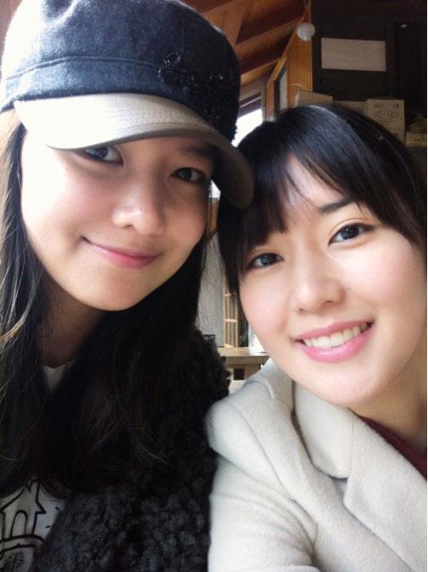 Choi sisters Sooyoung Soojin selca
